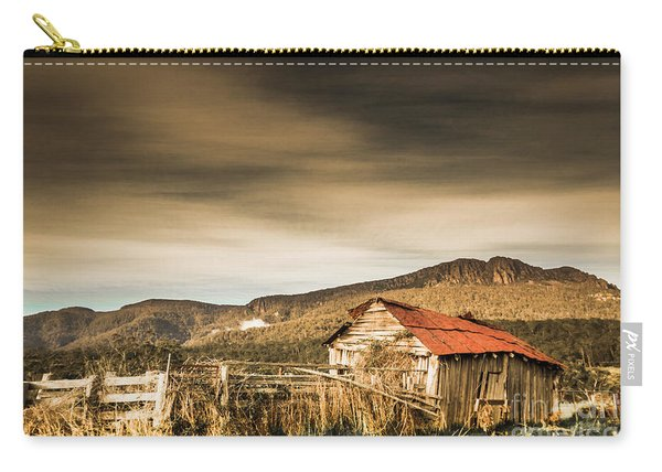 Beauty In Rural Dilapidation Carry-all Pouch