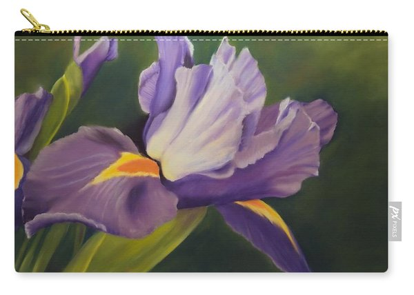 Beauty Is In The Iris Carry-all Pouch