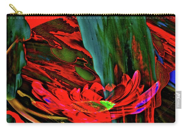 Beauty Of A Flower Abstract Carry-all Pouch