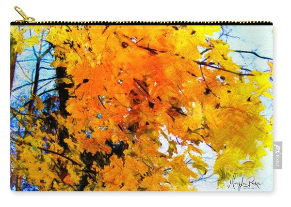 Beauty Of The Leaves Carry-all Pouch