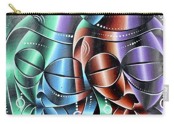 Beauty Of Women 2 Carry-all Pouch