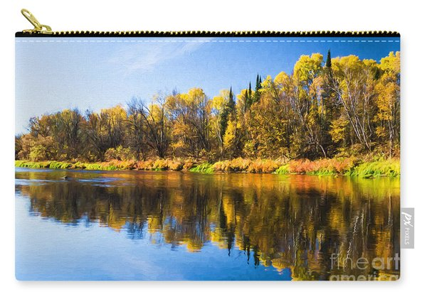 Beauty On The Big Fork Carry-all Pouch