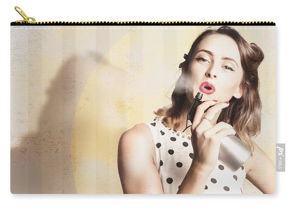 Beauty Parlour Pinup Carry-all Pouch