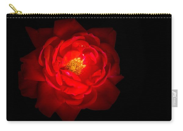 Carry-all Pouch featuring the photograph Beauty Shining Through The Darkness by Allin Sorenson