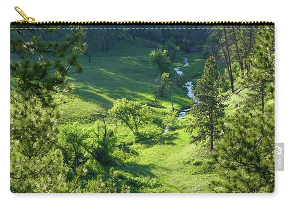 Carry-all Pouch featuring the photograph Beaver Creek In The Spring by Bill Gabbert