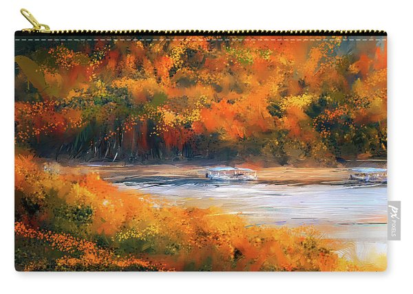 Beaver Lake Impressionist - Beaver Lake Art Carry-all Pouch
