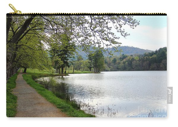 Beaver Lake Path Carry-all Pouch