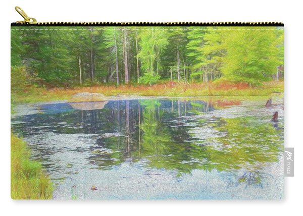 Beaver Pond Reflections Carry-all Pouch