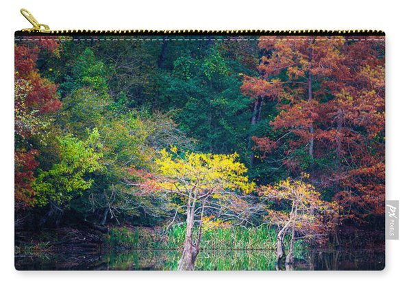 Beavers Bend Trees Carry-all Pouch