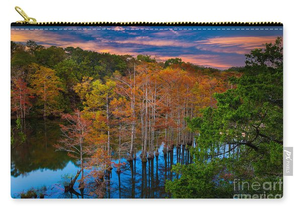Beavers Bend Twilight Carry-all Pouch