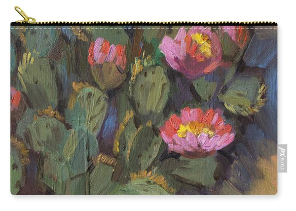 Beavertail Cactus 4 Carry-all Pouch