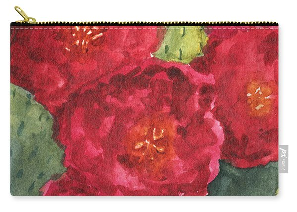 Beavertail Cactus Carry-all Pouch