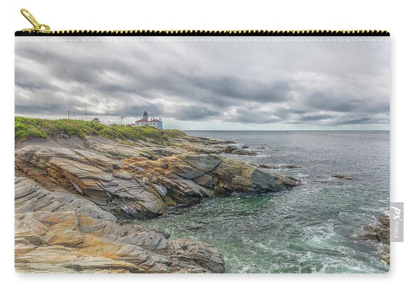 Beavertail Lighthouse On Narragansett Bay Carry-all Pouch