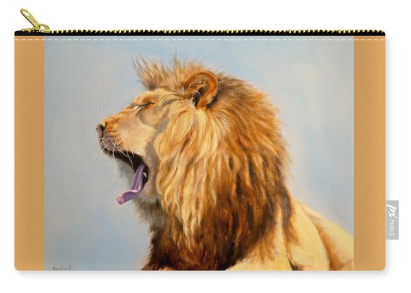 Bed Head - Lion Carry-all Pouch