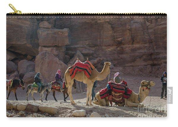 Bedouin Tribesmen, Petra Jordan Carry-all Pouch