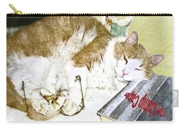 Bedtime Cat Carry-all Pouch