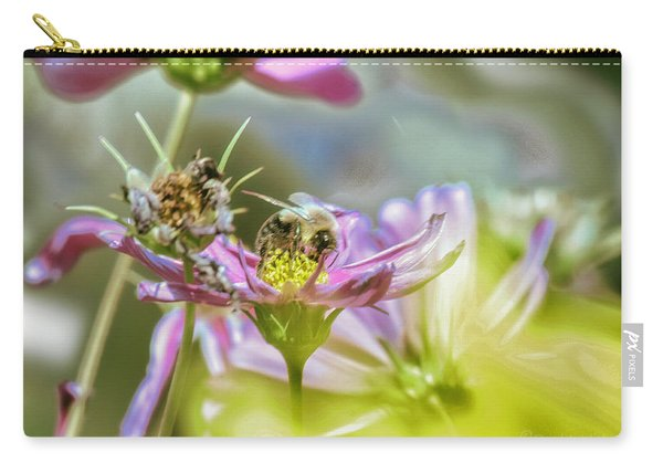 Bee Above Yellow.... Carry-all Pouch