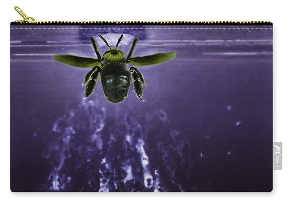 Bee Drilling Wood Carry-all Pouch
