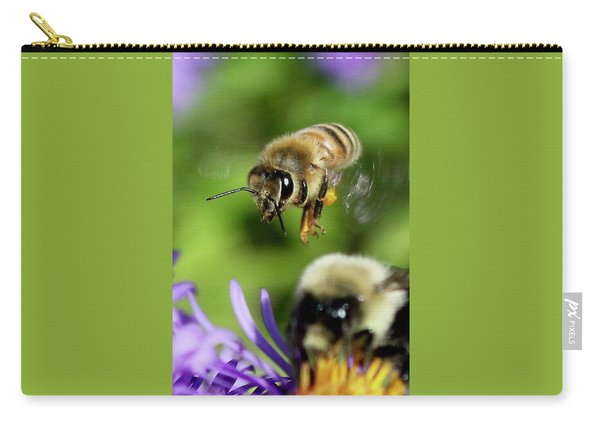 Bee In Flight  Carry-all Pouch