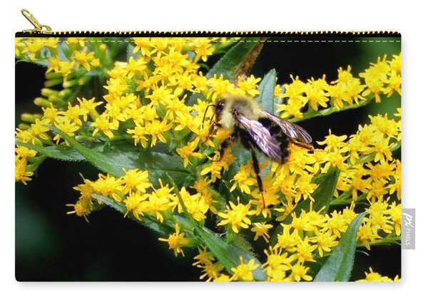 Bee In The Rawweed Carry-all Pouch