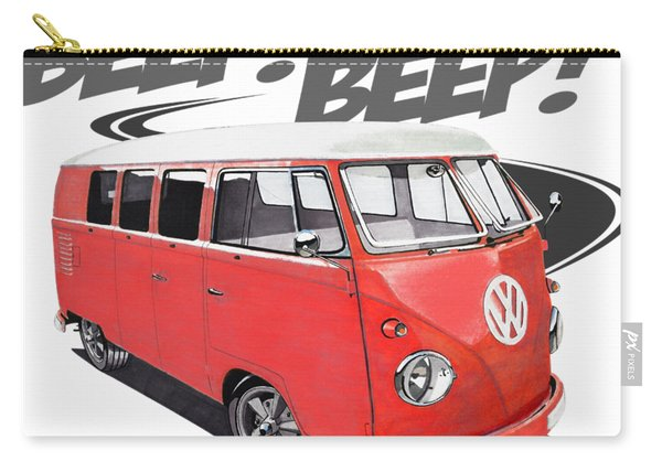 Beep Beep Bus Carry-all Pouch