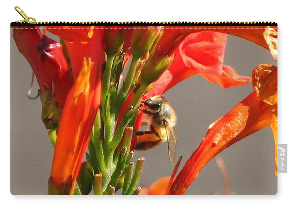 Day In A Life Of A Bee Carry-all Pouch