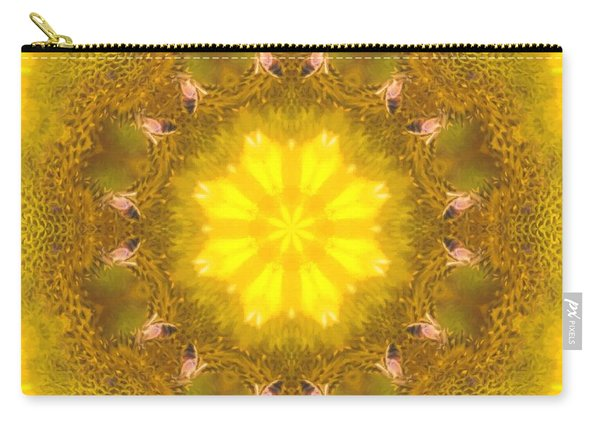 Bees Kaleidoscope Carry-all Pouch