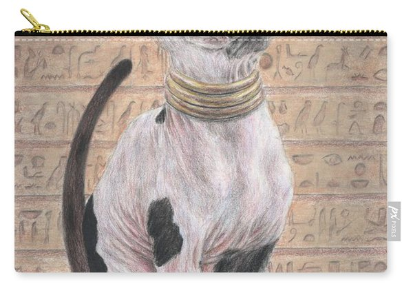 Beetle And The Cat Carry-all Pouch