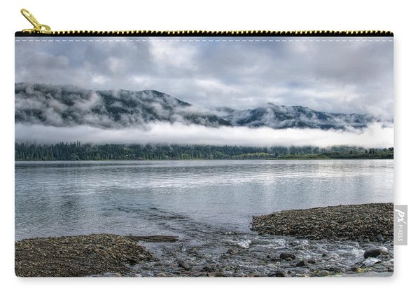 Before The Dawn On Quinault By Mike-hope Carry-all Pouch