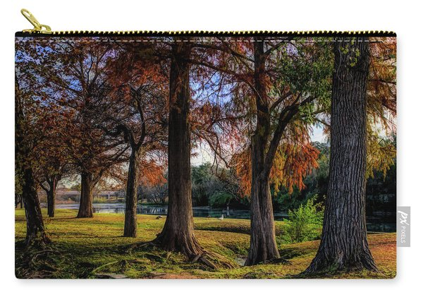 Beginning Of Fall In Texas Carry-all Pouch