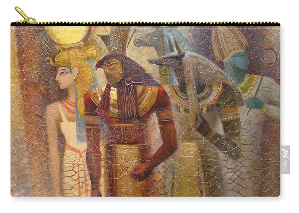Beginnings. Gods Of Ancient Egypt Carry-all Pouch