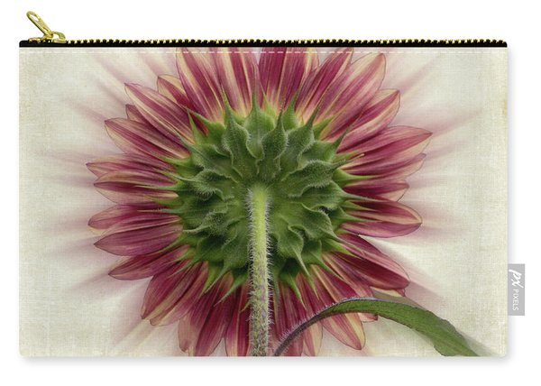 Behind The Sunflower Carry-all Pouch