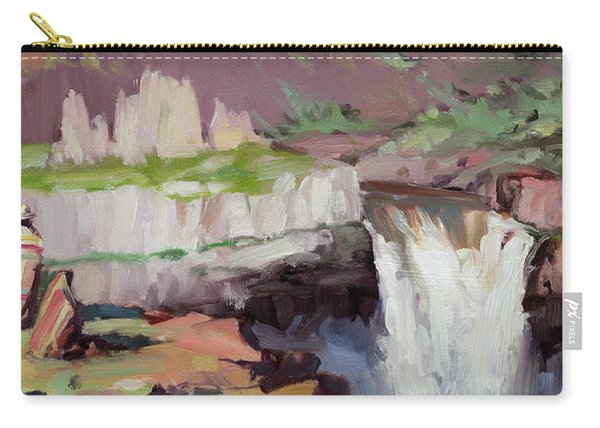 Beholding Palouse Falls Carry-all Pouch