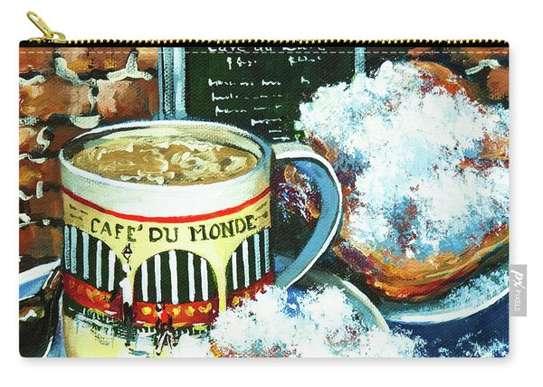 Beignets And Cafe Au Lait Carry-all Pouch