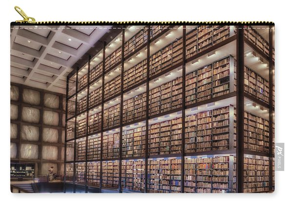 Beinecke Rare Book And Manuscript Library Carry-all Pouch