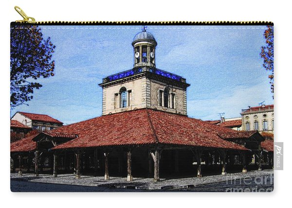 Belfry Of Revel City Carry-all Pouch