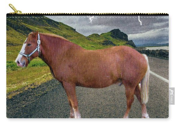 Belgian Horse Carry-all Pouch
