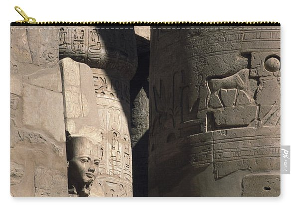Belief In The Hereafter - Luxor Karnak Temple Carry-all Pouch