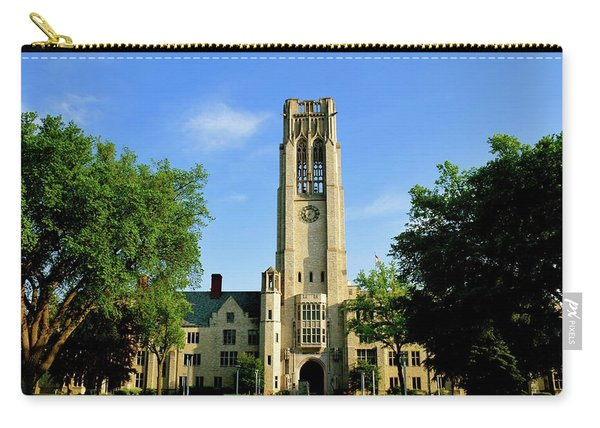 Bell Tower At The University Of Toledo Carry-all Pouch