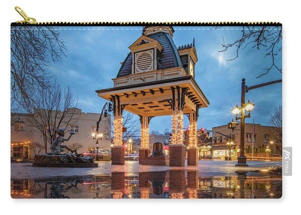 Bell Tower  In Beaver  Carry-all Pouch