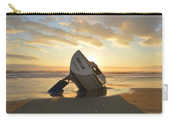 Belle At Sunrise Carry-all Pouch