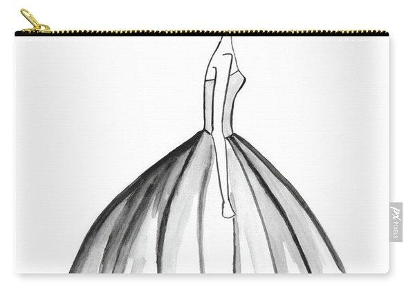 Belle En Noire Carry-all Pouch