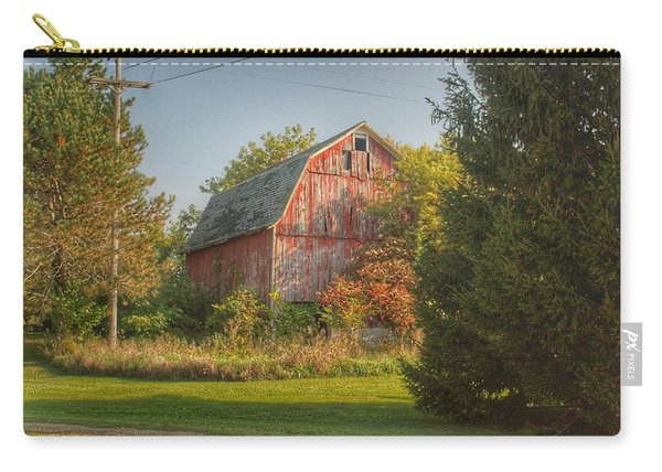 0028 - Belle River Red I Carry-all Pouch