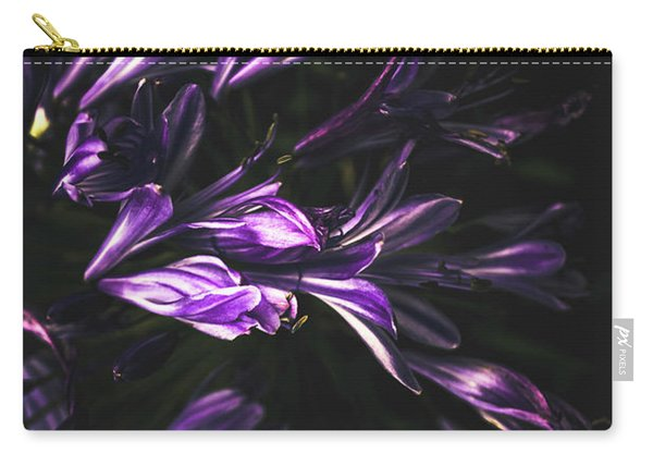 Bells And Flowers Carry-all Pouch
