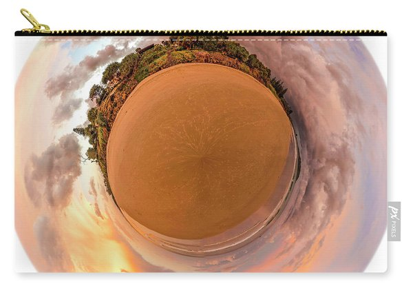 Belongil Sunset In Byron Bay Carry-all Pouch