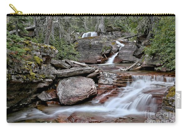Below Virginia Falls Carry-all Pouch