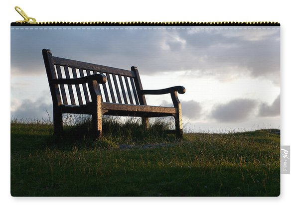 Bench At Sunset Carry-all Pouch