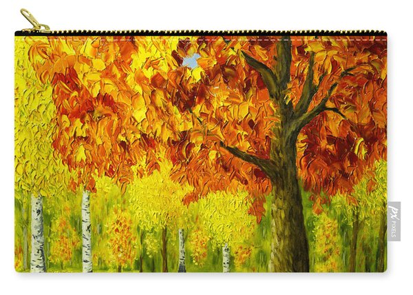 Bench Under The Maple Tree Carry-all Pouch
