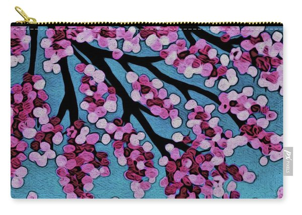 Beneath The Cherry Carry-all Pouch