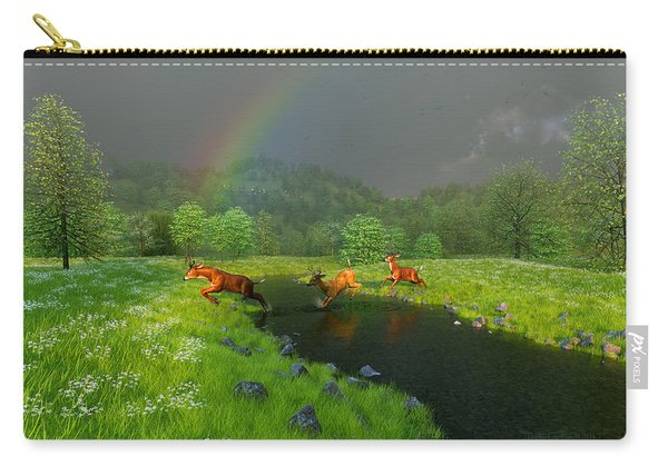 Beneath The Waning Mist Carry-all Pouch